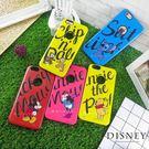 Disney迪士尼iPhone 6/6s Plsu磨沙雙料殼_字母系列
