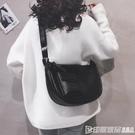 大包包女包新款2019大容量大學生上課包純色簡約休閒單肩斜背包潮 印象家品