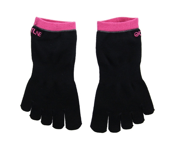 【OUTLINE】5Finger Socks Pink 23-25cm 飛鏢配件 DARTS