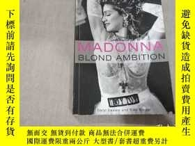 二手書博民逛書店MADONNA罕見BLOND AMBITIONY26596 MA