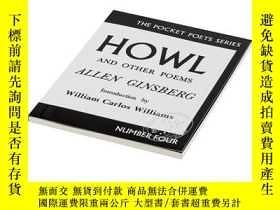 二手書博民逛書店HOWL&OTHER罕見POEMS 英文原版 嚎叫和其他詩歌 Allen GinsbergY21066 All