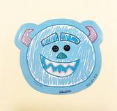 【震撼  】Monsters University_ 怪獸大學Q 版貼紙3 入毛怪