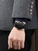 新品簡約概念全自動機械錶正韓潮流學生手錶男士石英防水男錶