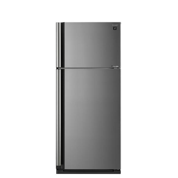 【送陶板屋餐券5張 14天後寄出】回函贈SHARP夏普541公升雙門變頻玻璃鏡面冰箱SJ-SD54V-SL