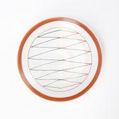 日本伊洛手繪平盤12.5cm折線
