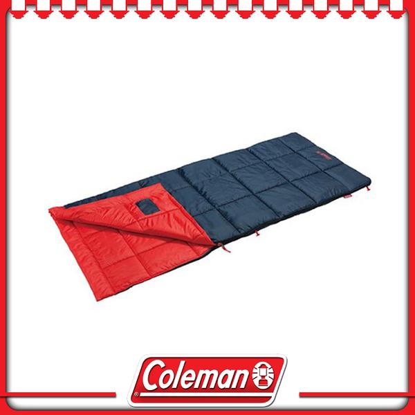 【Coleman 美國 表演者III睡袋《橘/C5》】34774/可水洗/戶外/登山/露營用品/舒適睡墊