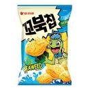 好麗友烏龜玉米脆片海苔味80G【愛買】
