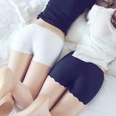 2條裝安全褲防走光女短褲冰絲無痕莫代爾白色蕾絲保險打底褲夏季