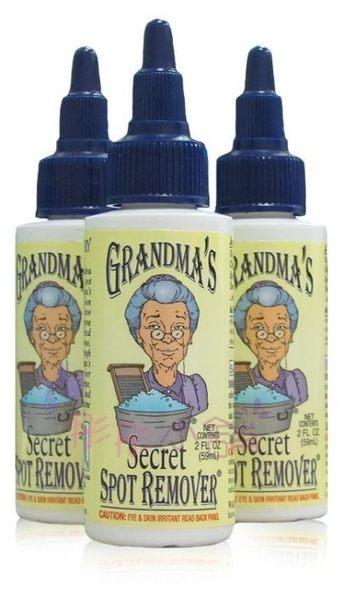 美國Grandma's Secret 奶奶的秘密 衣物去漬液 汙漬清潔液2oz/ 59ml【彤彤小舖】