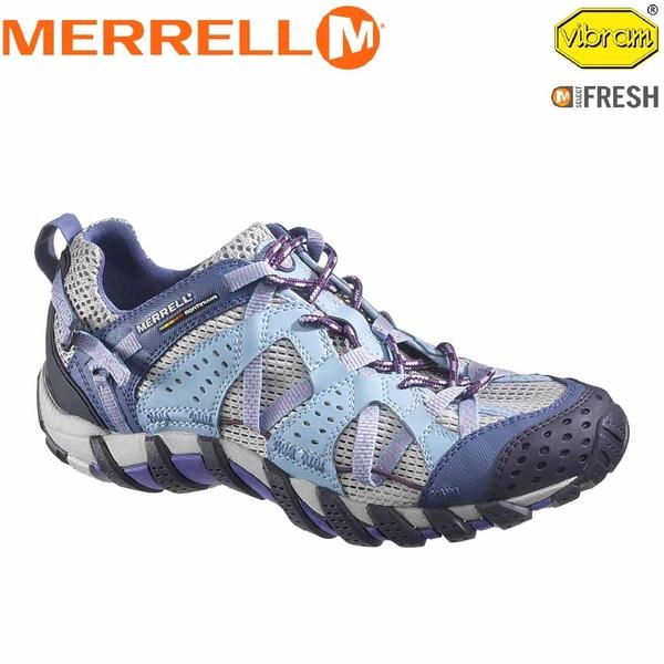 【MERRELL 美國 女 水陸兩棲鞋 藍紫色】ML 58122/越野鞋/休閒鞋/登山鞋/運動鞋/健行★滿額送