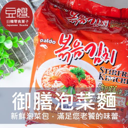 【豆嫂】韓國泡麵 御膳泡菜麵(4包/袋)