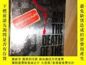 二手書博民逛書店THE罕見DEATH OF THE DETECTIVE MARK