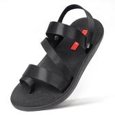 拖鞋男潮流韓版時尚個性男士涼鞋兩用夏季越南沙灘鞋橡膠涼拖外穿