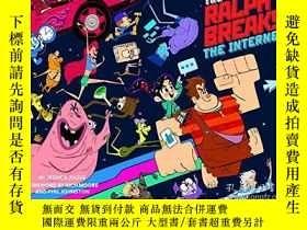 二手書博民逛書店The罕見Art Of Ralph Breaks The Internet: Wreck-it Ralph 2