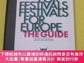 二手書博民逛書店Europe罕見for Festivals - Festivals for Europe The Guide 20