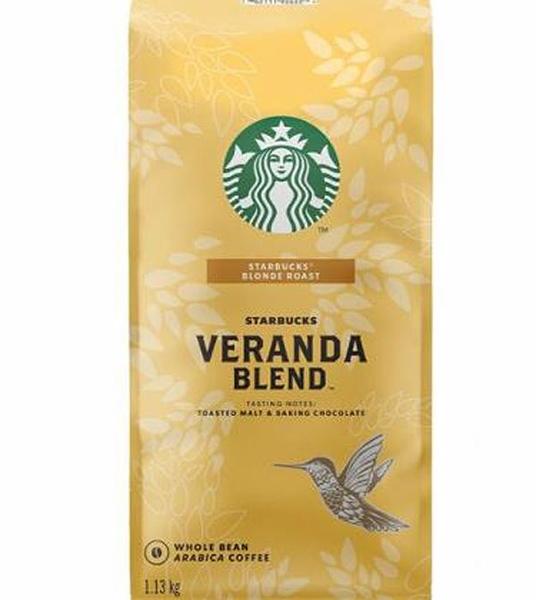 [COSCO代購] WC648080 Starbucks Veranda Blend 黃金烘焙綜合咖啡豆 1.13公斤 2組
