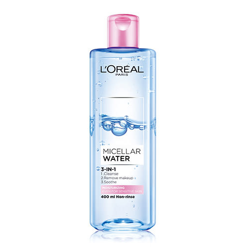 LOREAL 巴黎萊雅 三合一卸妝潔顏水(保濕型) 400ml【BG Shop】