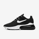 Nike  W Air Max 270 React [CI3899-002] 女鞋 運動 慢跑 籃球 情侶 穿搭 黑白