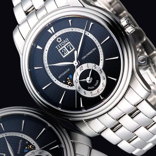 梅花錶 TITONI Master Series 天文台認證機械腕錶 94981S-390