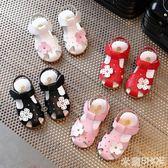 女童涼鞋 公主鞋正韓軟底包頭小童沙灘鞋女寶寶涼鞋1-3歲 米蘭shoe