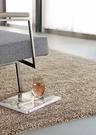 范登伯格 羅納 經典素面厚織進口地毯-棕...