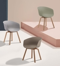 【歐雅系統家具】梅利餐椅-灰 / 北歐風 / 現成家具 / 椅子 / 多色選擇 / 時尚配色 / 咖啡廳 / PP材質