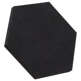 葡萄牙 Vicoustic Vixagon 40 FS Premium 六角面板 中高頻 吸音棉 黑色 NRC 0.85 700 x 607 x 40 mm