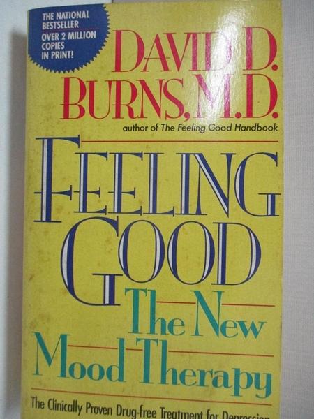 【書寶二手書T6/心理_ITT】Feeling Good: The New Mood Therapy_Burns, David D.