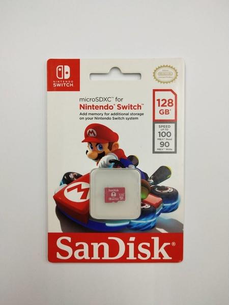 SanDisk micro SDXC 任天堂Switch 128G 記憶卡 增你強公司貨 送記憶卡收納盒