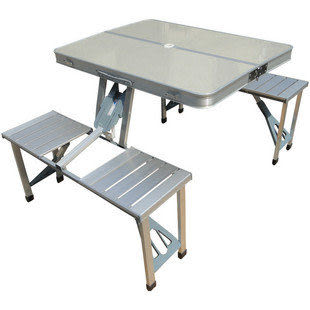 戶外鋁合金折疊桌椅/