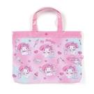 小花花日本精品Hello Kitty美樂蒂蹦蹦兔哆啦A夢史努比 防水袋 收提袋 外出袋 補習袋42174202