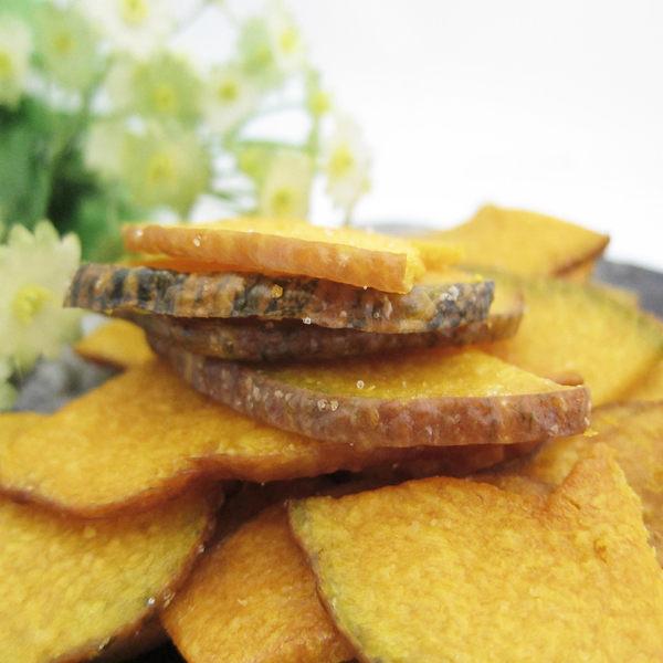 南瓜脆片 隨身包 110g 蔬果餅乾 乾燥蔬果 素食 【甜園】