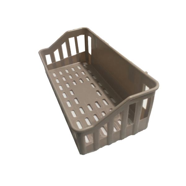 〈限今日-超取288免運〉 無痕壁掛收納籃 置物盒 整理盒 儲物籃 瀝水藍 浴室 【F0357】