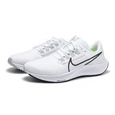 NIKE 休閒鞋 ZOOM PEGASUS 38 小飛馬 白 黑 慢跑鞋 訓練 男 (布魯克林) CW7356-100