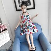 童裝女童連身裙夏裝2018新款兒童棉布裙洋氣公主裙時髦女孩裙子潮第七公社