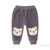 寶寶休閒褲男0-1歲 兒童韓版2小童長褲幼兒外褲夏季裝5男童秋天褲子