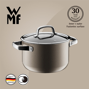 【WMF】Fusiontec 高身湯鍋 20cm 3.7L(棕銅色)