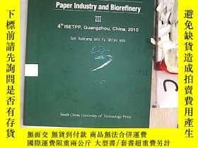 二手書博民逛書店Research罕見Progress in Paper Industry and Biorefinery 4th