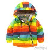 男童加絨外套沖鋒衣秋冬款冬裝童裝兒童寶寶加厚女童棉衣小童3歲1·蒂小屋