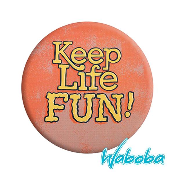【Waboba】軟式飛盤/藝術家 系列1『快樂生活』304C01 戶外 出遊 沙灘 海岸 親子 遊戲 兒童 公園 飛盤