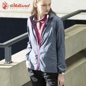 WildLand荒野 0A71907 女可溶紗環保吸排透氣外套(S~2L) / 城市綠洲 (防曬外套、吸濕速乾、輕薄)