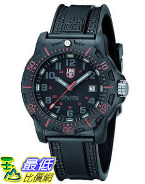 [美國直購 ShopUSA] 手錶 Luminox 8815 Luminox Navy Seal 20th Anniversary Seal 8815 Black/Red Dial New Evo _CN $9276