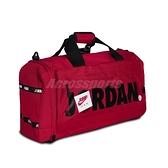 Nike 手提包 Jordan Duffel Bag 紅 黑 男女款 喬丹 斜背 兩用 健身包 運動休閒 【ACS】 JD2113020AD-002