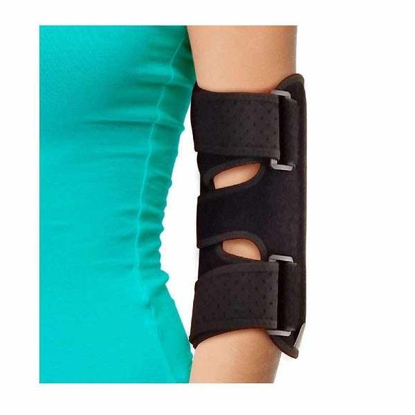 手肘支撐帶 2個可移動金屬夾板 Night Elbow Sleep Support 左右手通用 B07ZHP4KSD [2美國直購]