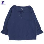 【春夏新品】American Bluedeer - 抽皺氣質上衣(特價) 春夏新款