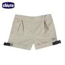chicco-皇家時尚-點點反折短褲