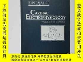 二手書博民逛書店舊書外文《CARDIAC罕見ELECTROPHYSIOLOGY:From Cell to Bedside》心臟電生