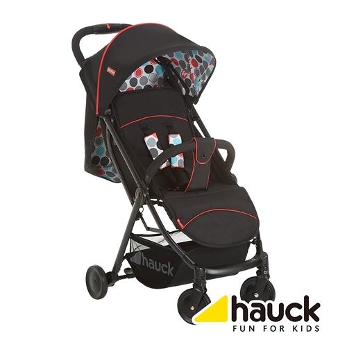 Hauck-費雪聯名款-Rio Plus單手秒收推車(黑) 麗翔親子館