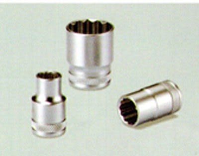 12角 套筒 短型 四分 1/2 *8mm