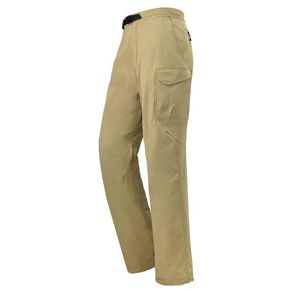 [好也戶外]mont‧bell STRETCH LINING CARGO男款薄刷毛多口袋長褲 No.1105441-LTN/BKOV